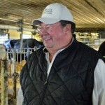Ed Smith in his barn